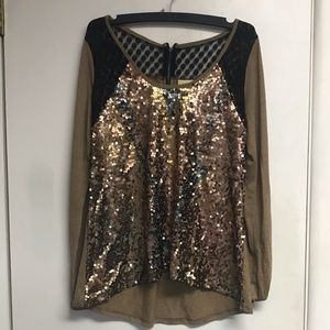 Tops - Cute sparkling blouse